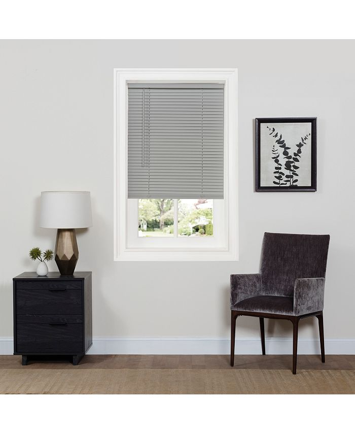 "Achim - Cordless GII Deluxe Sundown 1"" Room Darkening Mini Blind 39x64 - Pearl White"