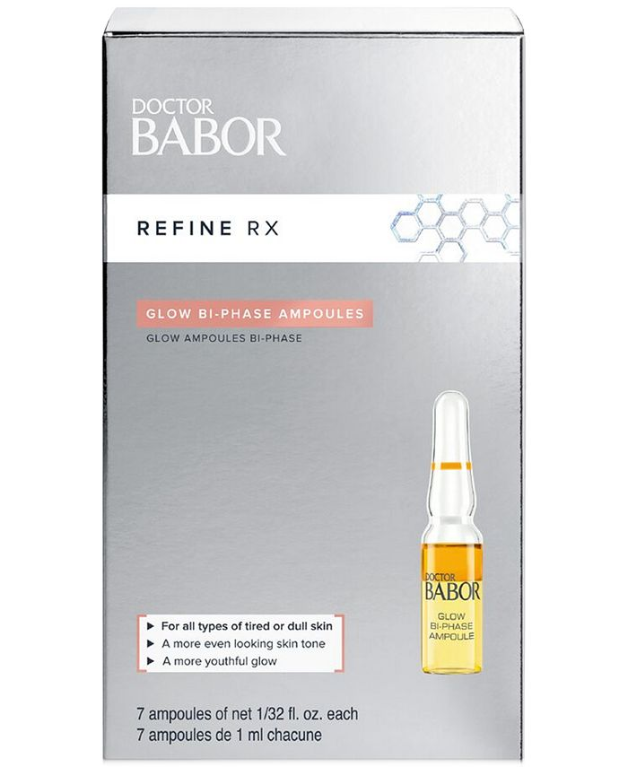 BABOR - Babor Doctor Babor Refine Rx Glow Bi-Phase Ampoule Concentrates, 0.2-oz.
