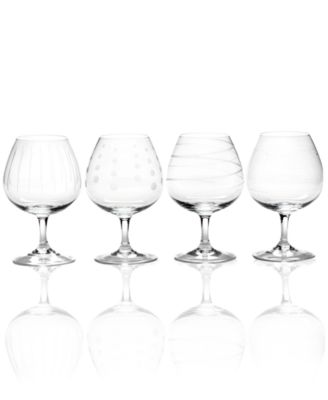 Mikasa Glassware, Set of 4 Cheers Brandy Glasses