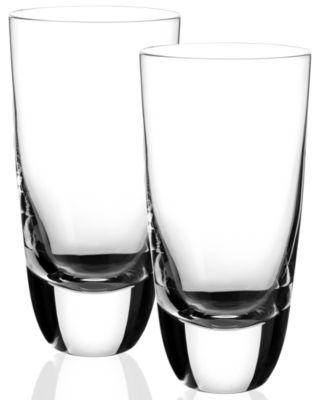 Villeroy & Boch Drinkware, Set of 2 American Bar Straight Bourbon Highball Glasses