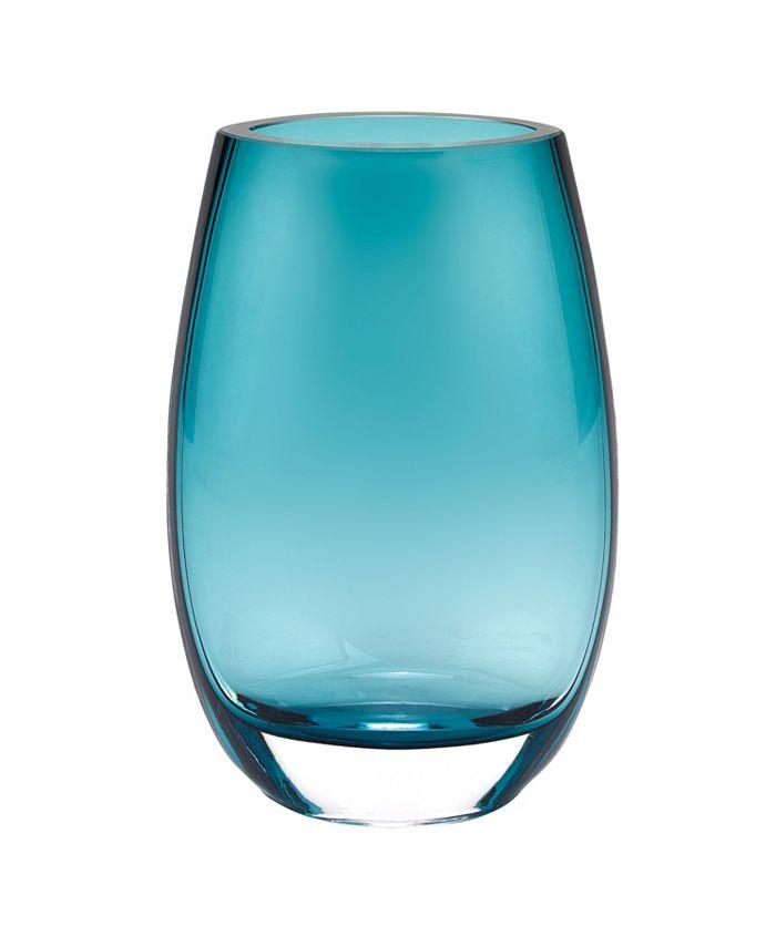 Badash Crystal - Peacock 7.5 in Vase