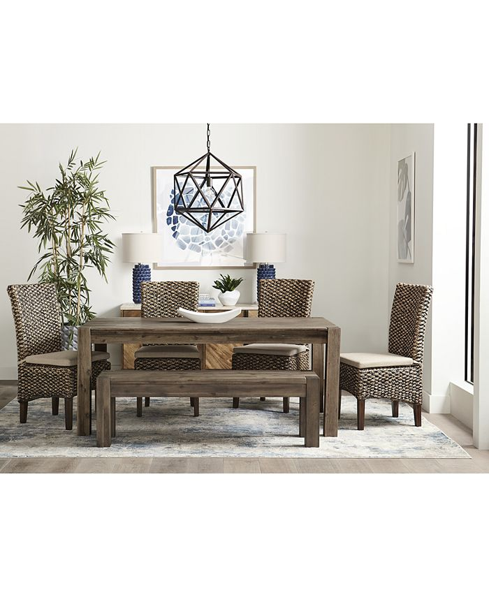 Furniture Canyon 60 Dining Table Created For Macy S Reviews Furniture Macy S