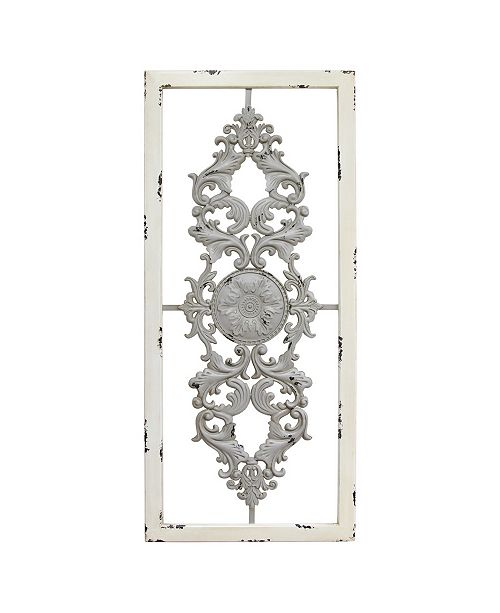 Stratton Home Decor Stratton Home Decor Grey Scroll Panel Wall Decor Reviews Wall Art Macy S
