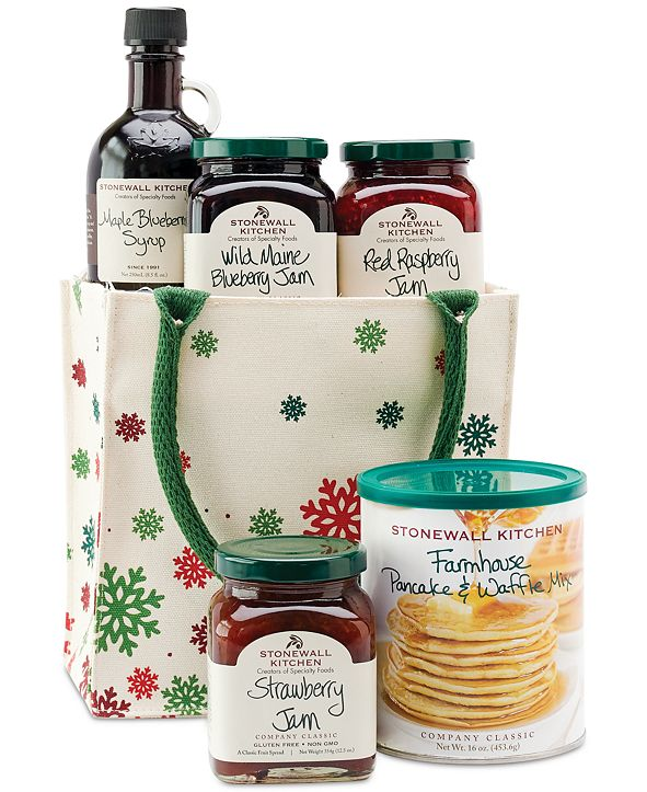 Stonewall Kitchen Deluxe Breakfast Tote Gift Set