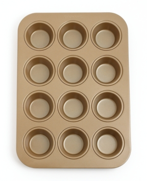 Calphalon Simply Nonstick Muffin Pan, 12 Cup Toffee