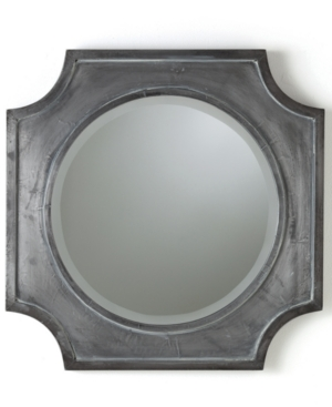 Arteriors Mirror, Hayes Quatrefoil Metal Clad
