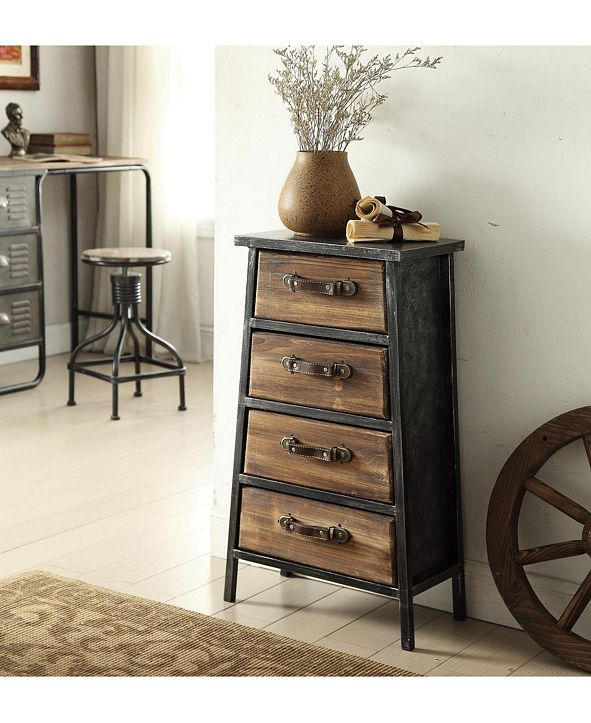 4D CONCEPTS Urban Collection 4 Drawer Chest
