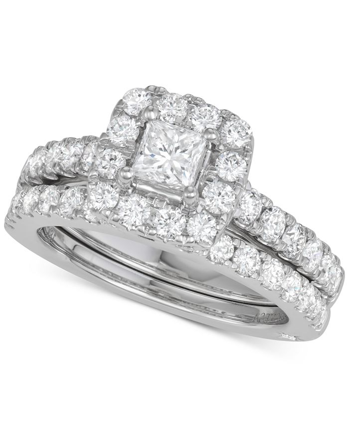Marchesa - Diamond Bridal Set (2 ct. t.w.) in 18k White Gold