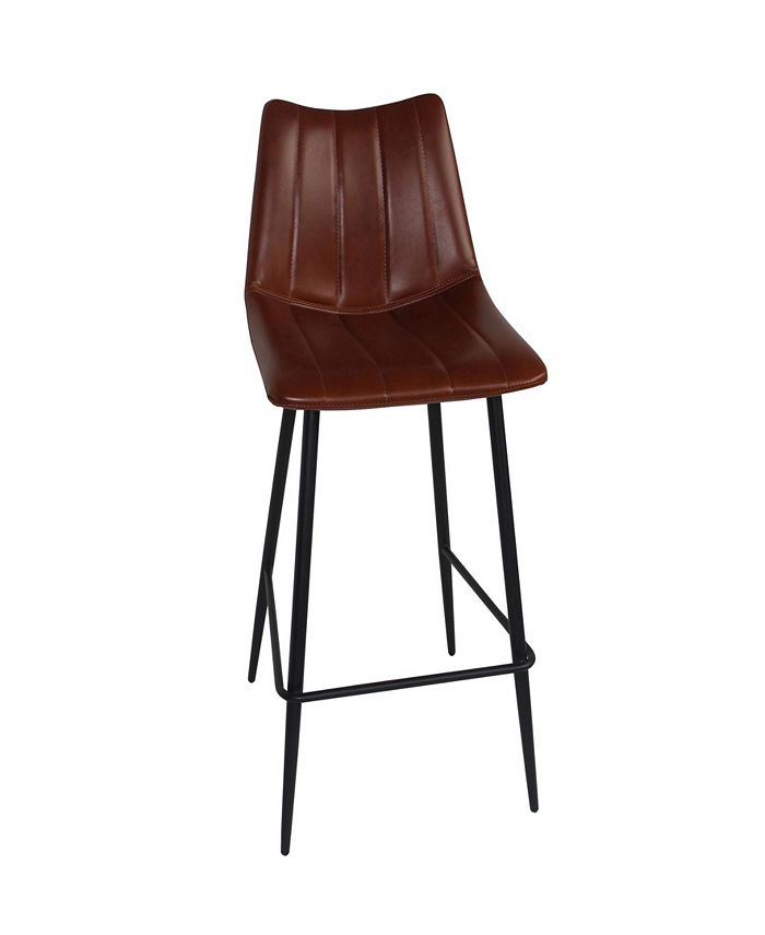 Moe's Home Collection - ALIBI BARSTOOL BROWN-SET OF TWO