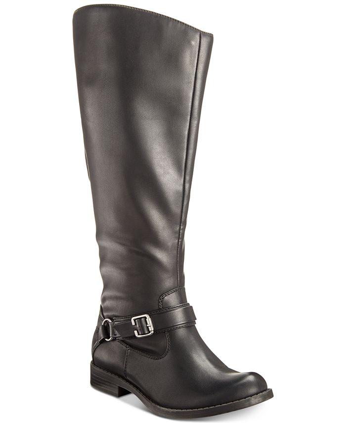 Easy Street - Quinn Wide-Calf Riding Boots