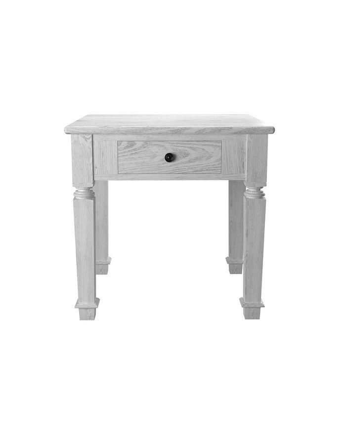 Furniture of America - Vera End Table, Quick Ship
