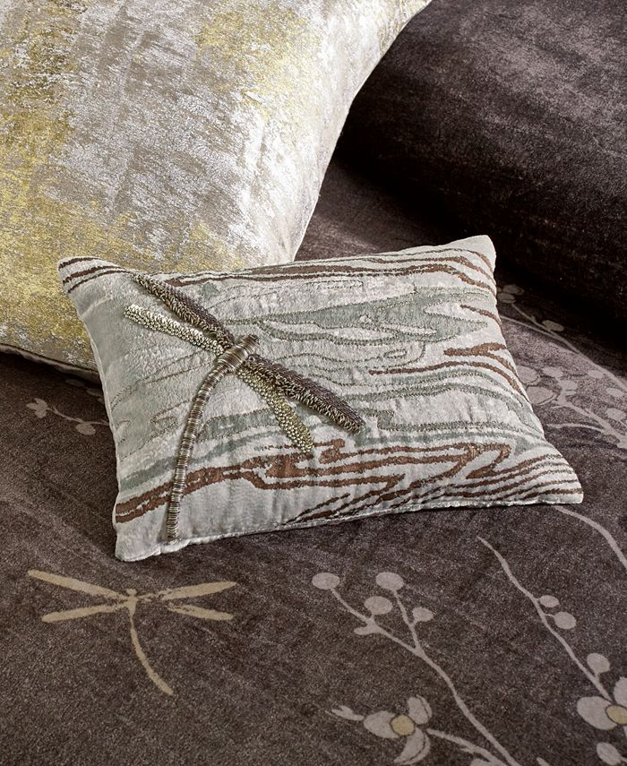 "Michael Aram - Dragonfly 8""x12"" Decorative Pillow"