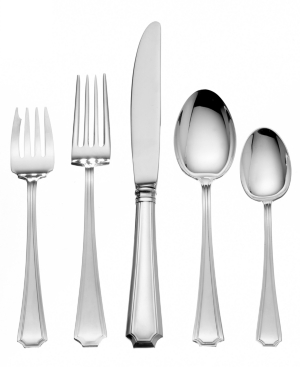 Gorham Sterling Silver Flatware, Fairfax 5 Piece Place Setting