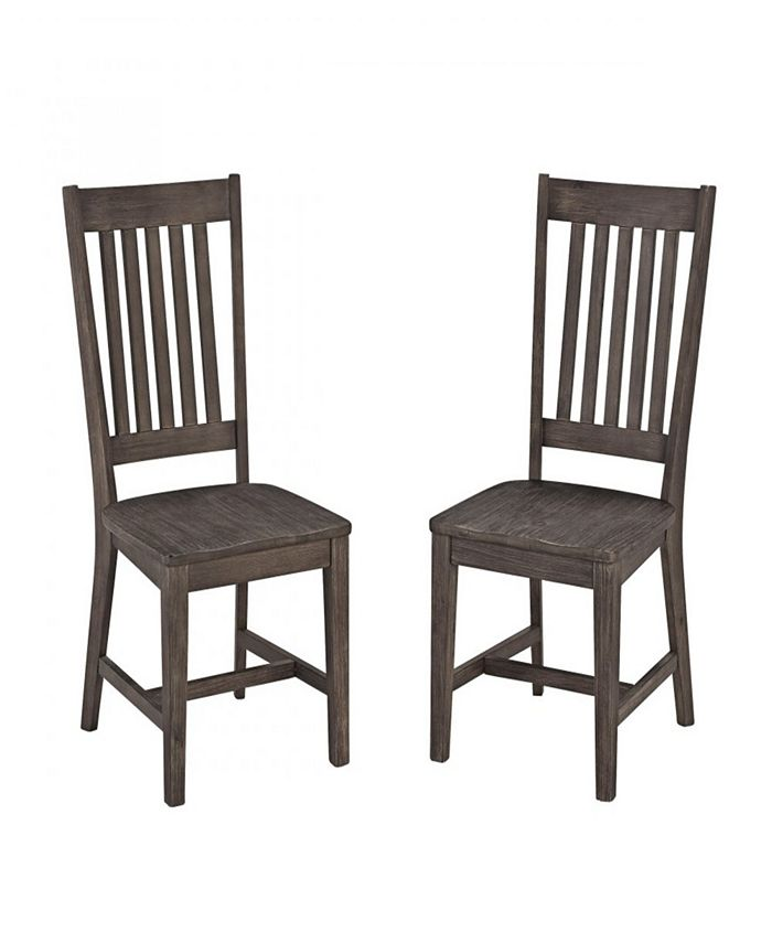 Home Styles - Concrete Chic Dining Chair Pair