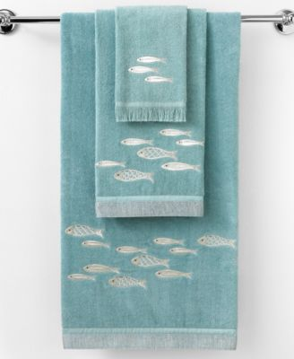 "Avanti Bath Towels, Nantucket 11"" x 18"" Fingertip Towel"