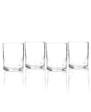 Marquis by Waterford Drinkware, Set of 4 Vintage Double Old Fashioned Glasses 620855