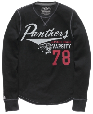 American Rag Shirt, Varsity Panther Graphic Thermal