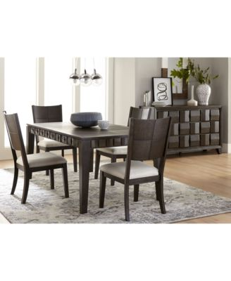 Matrix Dining Furniture, 5-Pc. Set (Table & 4 Side Chairs), Created for Macy's