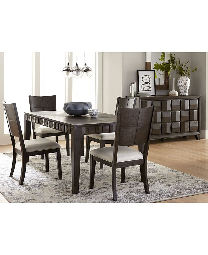 Furniture - Matrix Dining , 5-Pc. Set (Table & 4 Side Chairs)