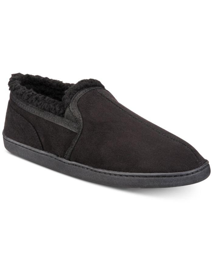 Gold Toe Men's Twin Gore Faux-Suede Slippers & Reviews - All Men's Shoes - Men - Macy's
