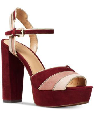Michael Kors Harper Platform Sandals