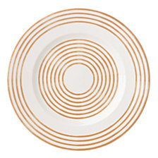 kate spade new York Sienna Lane Stripe Accent Plate