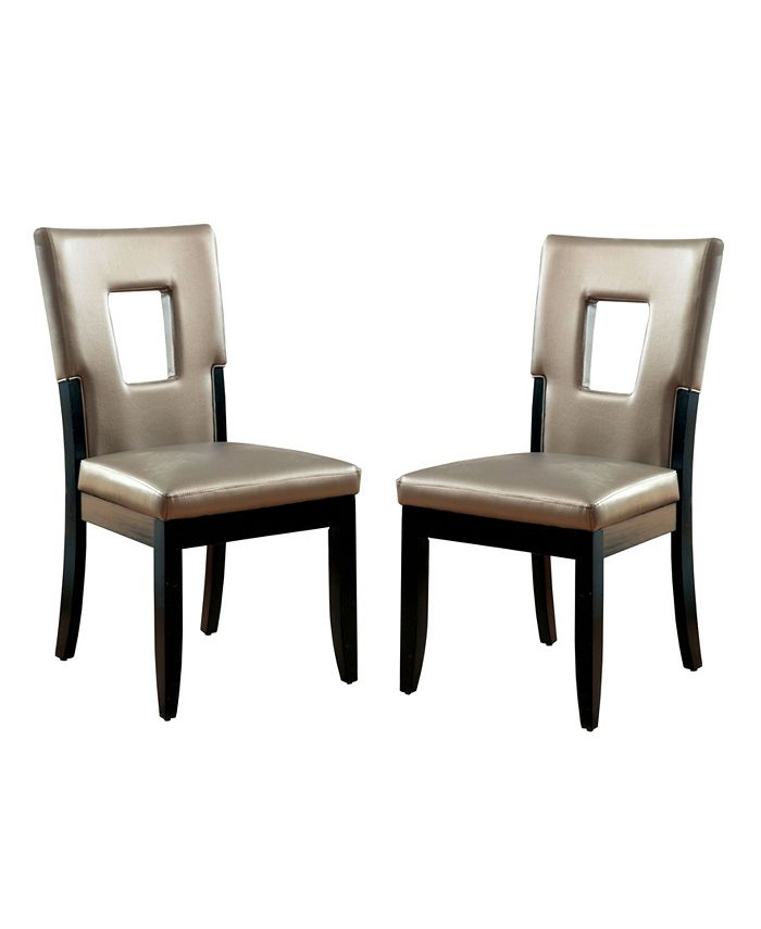 Furniture of America - Nosbisch Dining Chair, Quick Ship