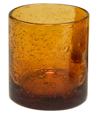Artland Glassware, Iris Amber Double Old Fashioned Glass