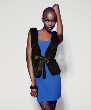 Material Girl Dress, Shoulder Pad Bodycon Rhinestones