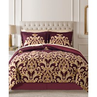 8-Piece Fairfield Square Collection Amalanta Reversible Comforter Set