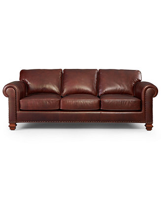 Lauren Ralph Lauren Leather Sofa Stanmore Furniture