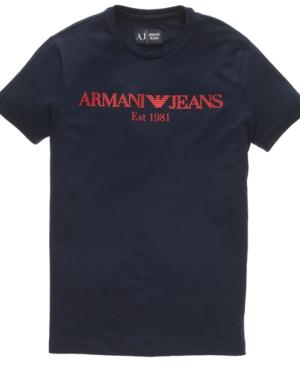 Armani Jeans Tee, Stretch Jersey Tee