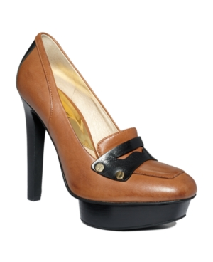 MICHAEL Michael Kors Shoes, Fallyn Platform Loafer Pumps Women's Shoes