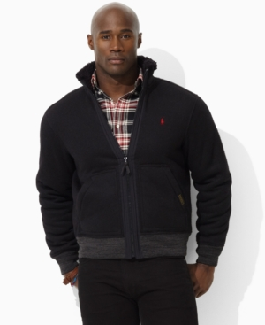 Polo Ralph Lauren Jacket, Big and Tall Downhill Racer Jacket
