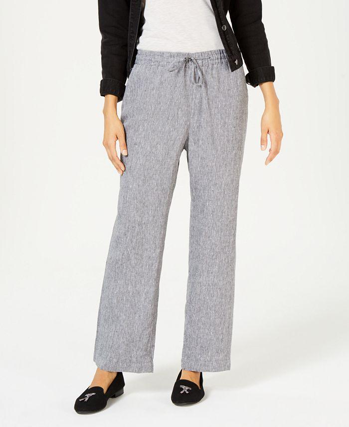 Charter Club - Straight-Leg Pants