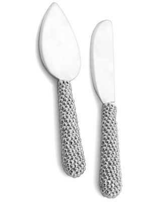 Michael Aram New Molten Cheese Knife Set