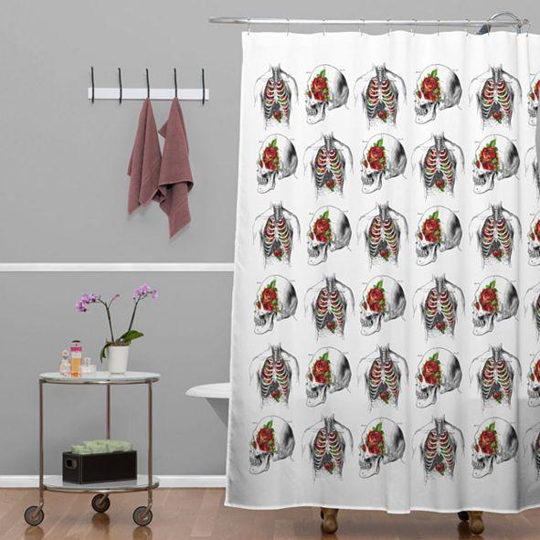Deny Designs Iveta Abolina Deerbird Shower Curtain