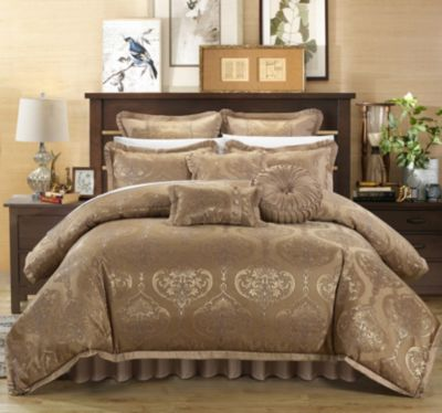 Como 9-Pc Queen Comforter Set