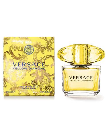 Versace Yellow Diamond Eau de Toilette, 3 oz - Shop All ...