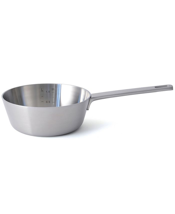 BergHOFF - Ron 5-Ply 18/10 Stainless Steel 1.4 Qt. Conical Sauce Pan