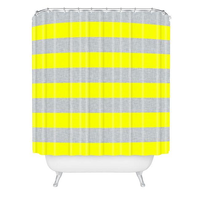 Deny Designs Holli Zollinger Bright Stripe Shower Curtain