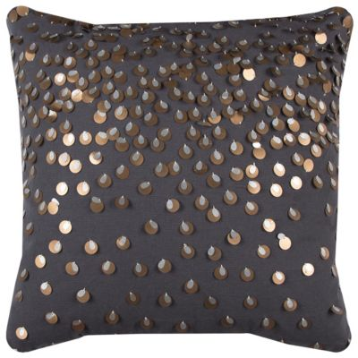 """20"""" x 20"""" Sequinned Poly Filled Pillow"""