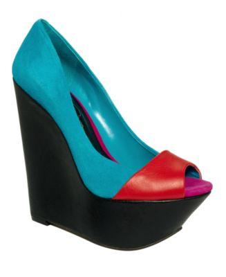 Jessica Simpson Shoes, Marcos Platform Wedges