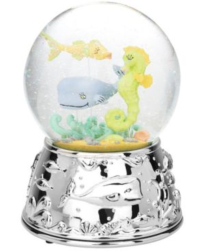 Reed & Barton Snow Globe, SeaTails Musical