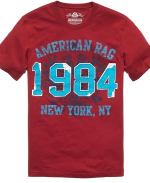 American Rag T Shirt, 1984 Agraphic