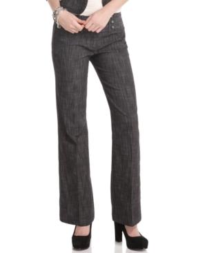 BCX Pants, Low Rise Wide Leg Trouser
