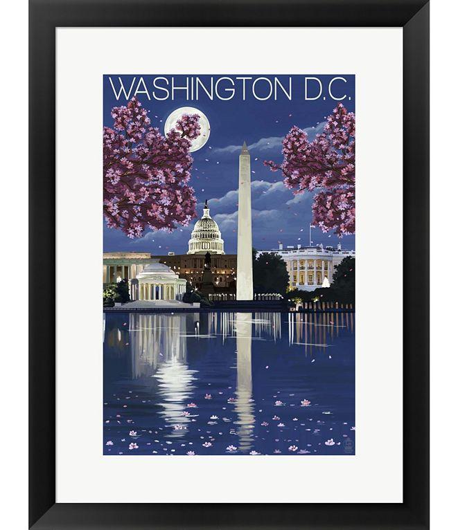 Metaverse Washington DC by Lantern Press Framed Art