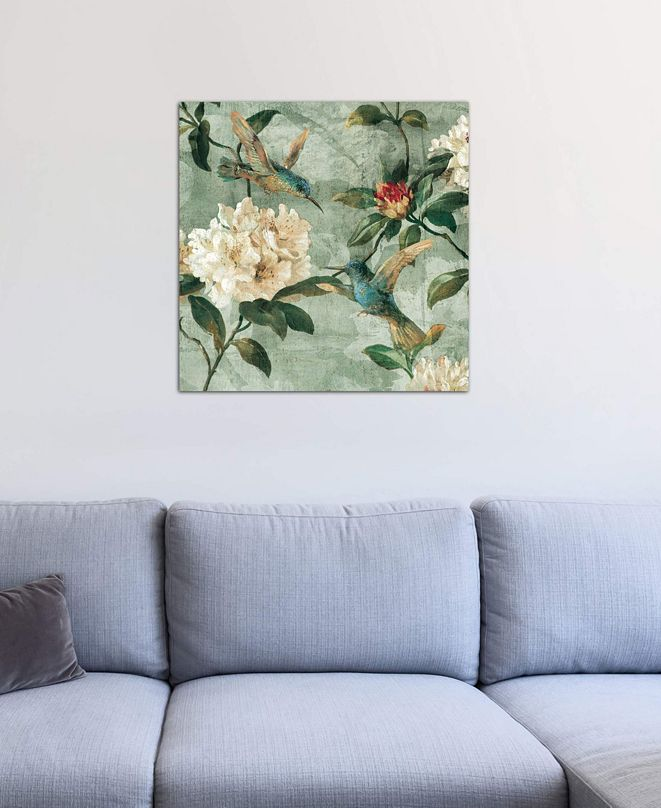 """iCanvas """"Birds Of A Feather I"""" by Reneé Campbell Gallery-Wrapped Canvas Print"""