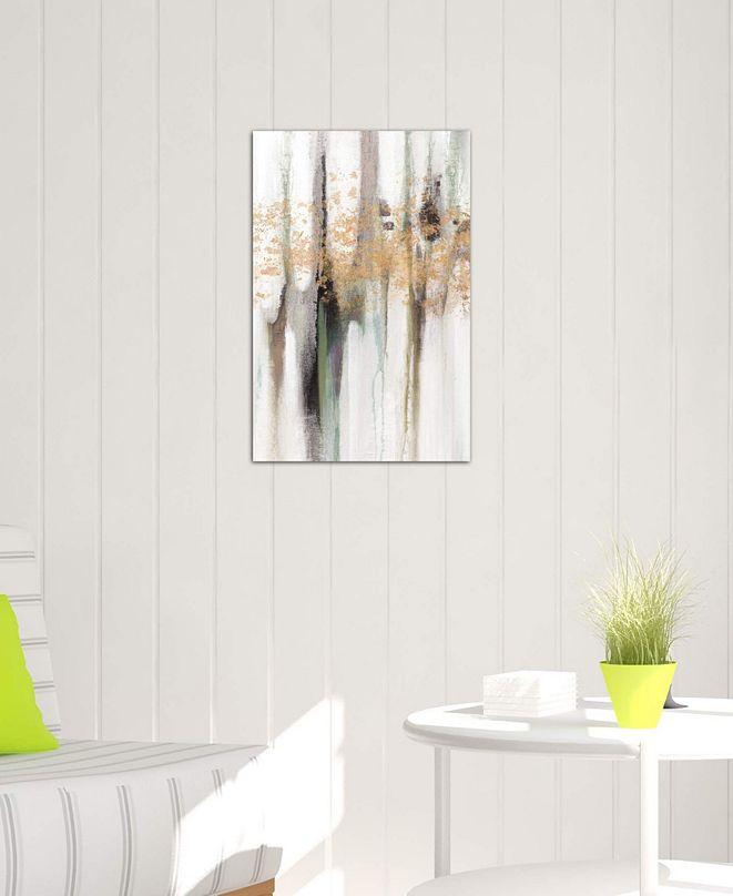 "iCanvas ""Falling Gold Leaf I"" by Studio W Gallery-Wrapped Canvas Print (40 x 26 x 0.75)"