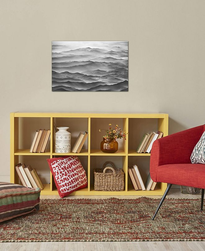 "iCanvas ""Ocean Mountains"" by Ben Heine Gallery-Wrapped Canvas Print (18 x 26 x 0.75)"